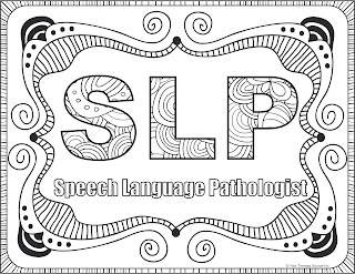 OT, PT and SLP Coloring Pages | Your Therapy Source - www ...