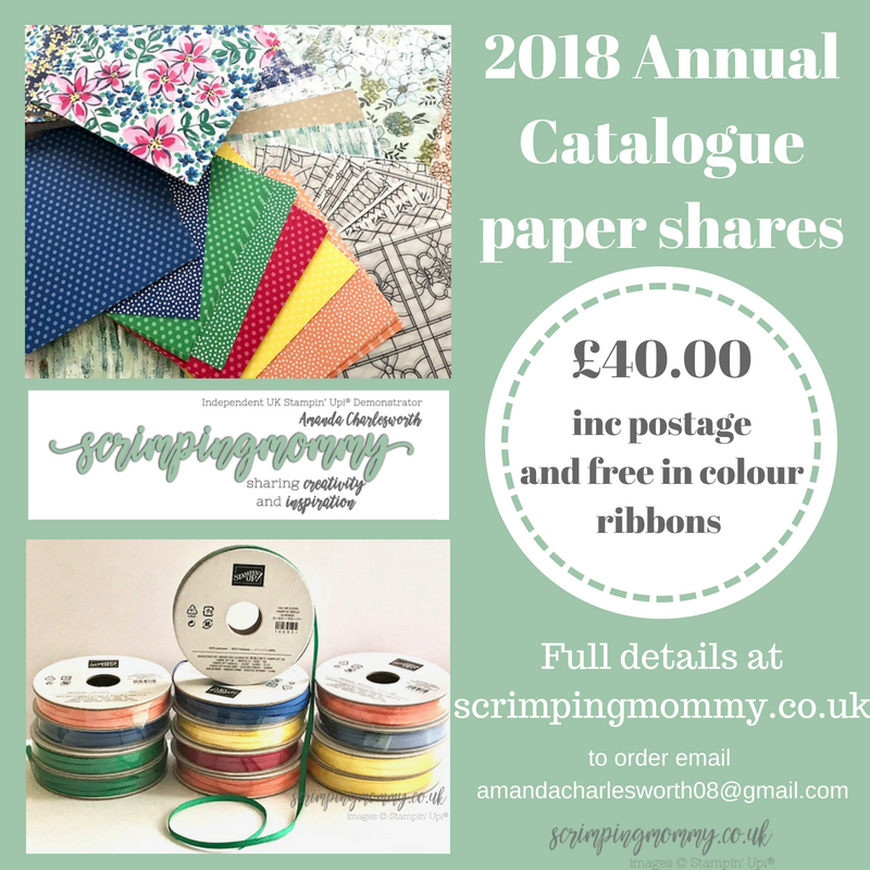 Stampin/' Up 2018//2019 Annual Catalogue