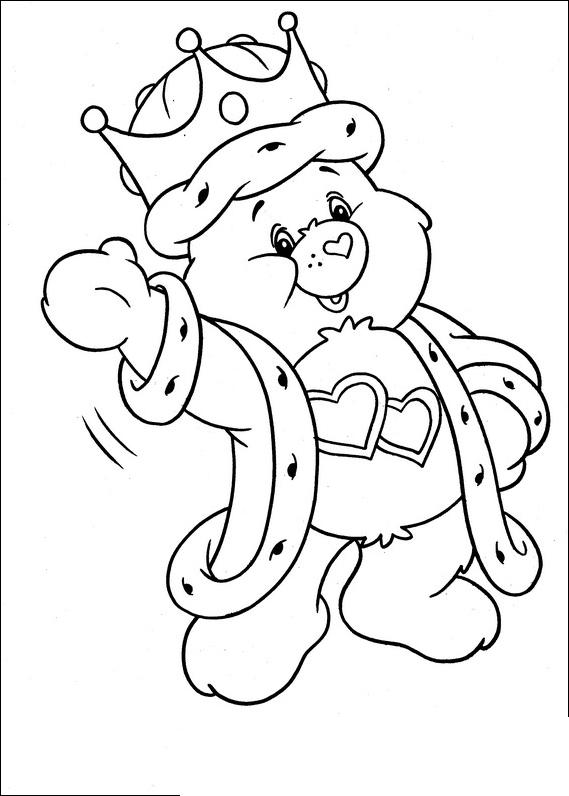 care bear baby coloring pages - photo#39