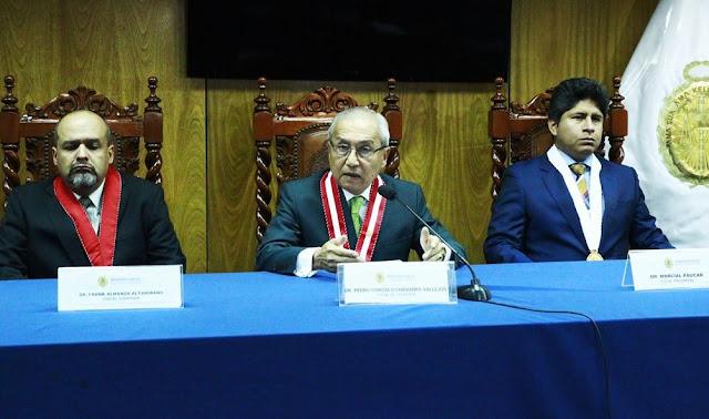 En reemplazo de Vela fue designado el fiscal superior Frank Almanza Altamirano como coordinador del Equipo Especial, mientras que en reemplazo de José Domingo Pérez se nombró al fiscal provincial Marcial Páucar Chapa.