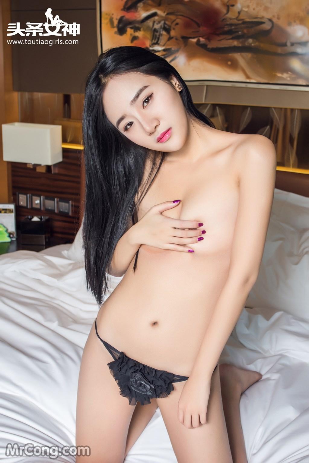 Image MrCong.com-TouTiao-2016-12-28-Zhou-Ling-001 in post TouTiao 2016-12-28: Người mẫu Zhou Ling (周凌) (26 ảnh)