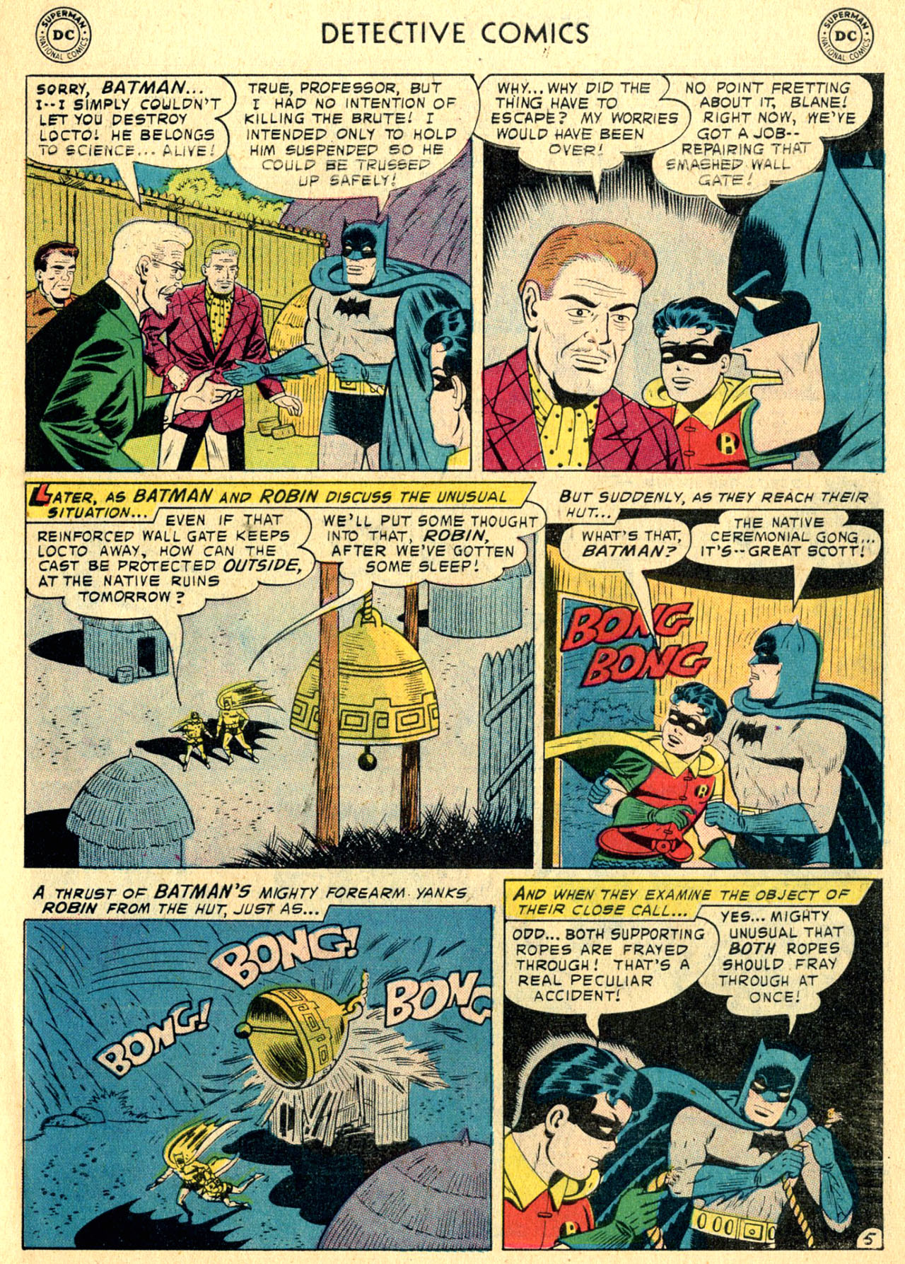 Read online Detective Comics (1937) comic -  Issue #252 - 7
