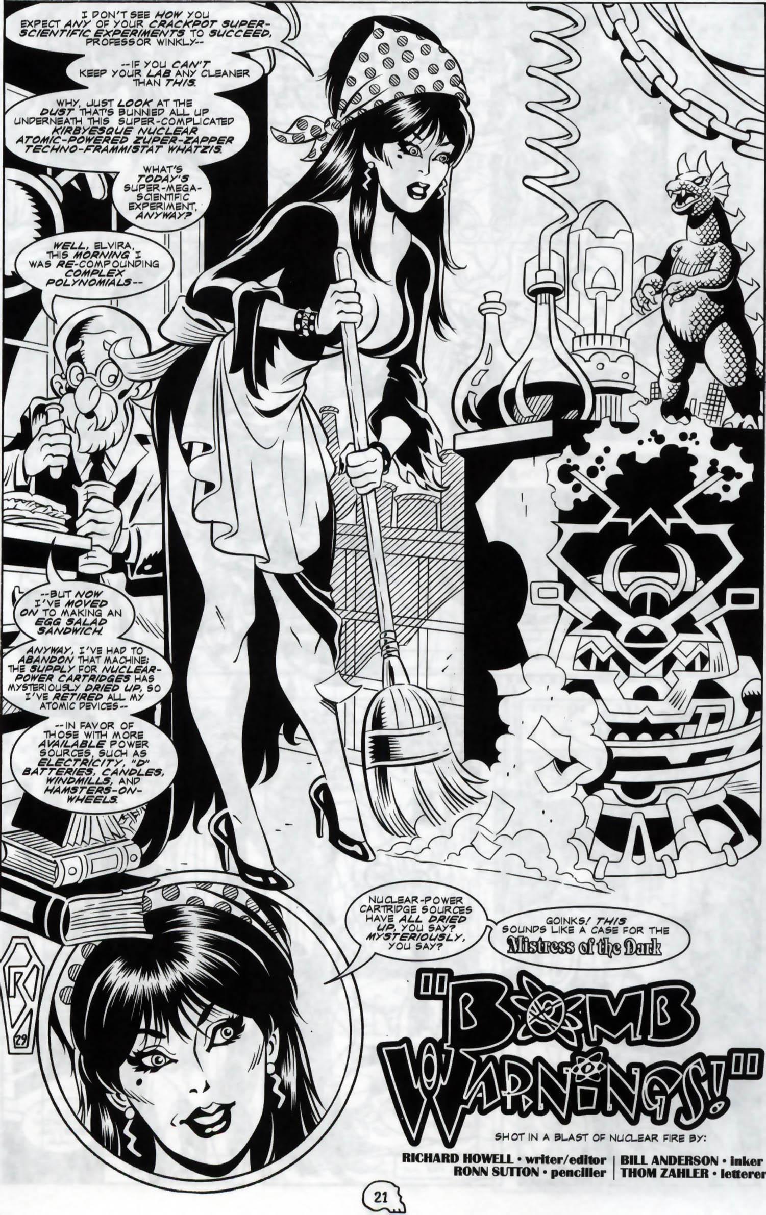 Read online Elvira, Mistress of the Dark comic -  Issue #120 - 18