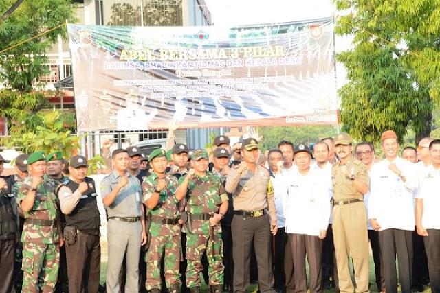 3 Pilar Kabupaten Brebes, Ciptakan  Aman Dan Kondusif Jelang Idul Fitri dan Pilgub Jateng 2018
