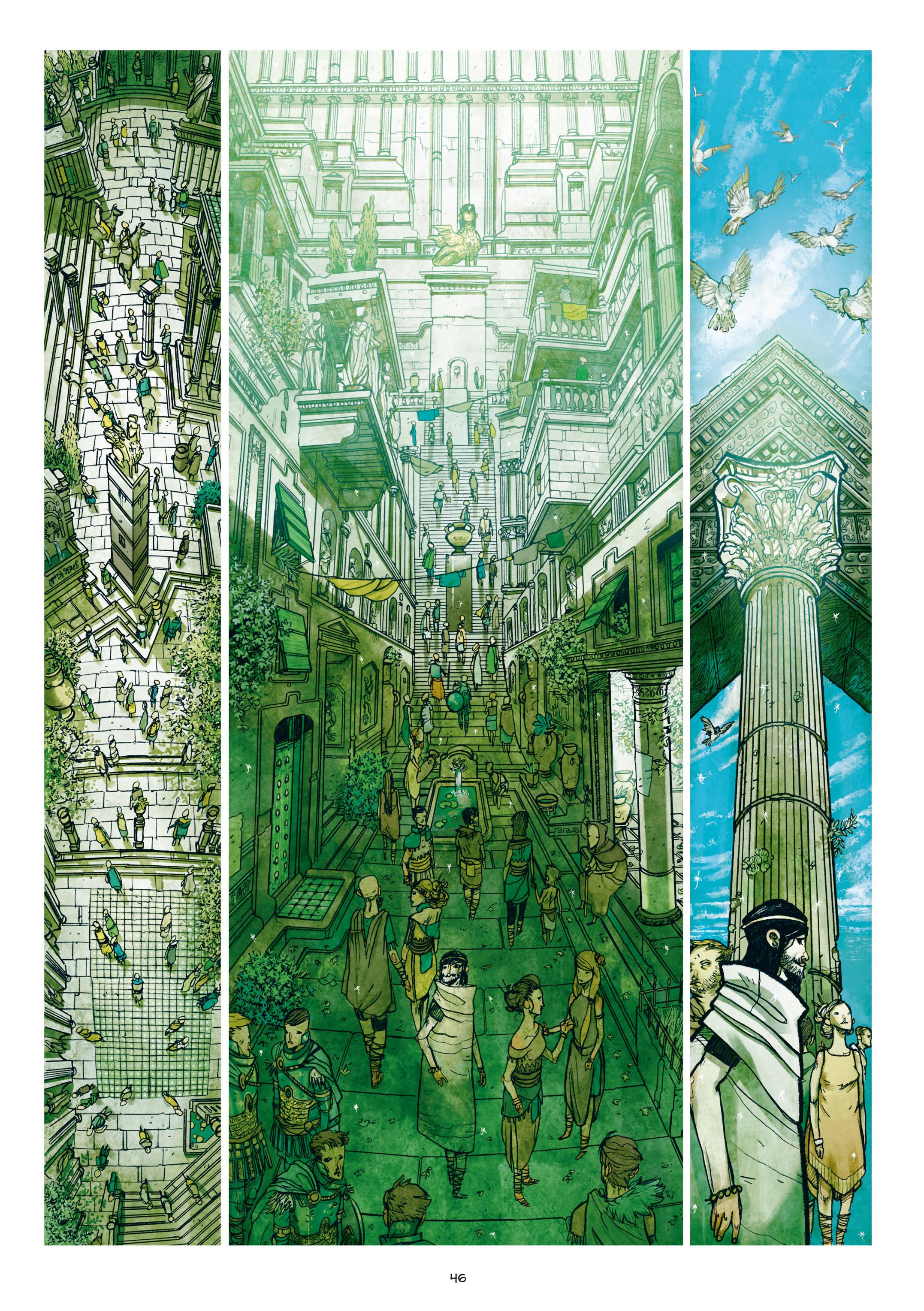 Read online Adrastée comic -  Issue #1 - 47