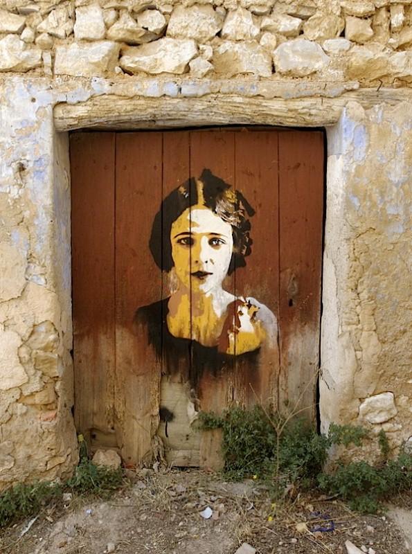 Уличные художники Andrea Michaelsson и Ilya Meyer 26