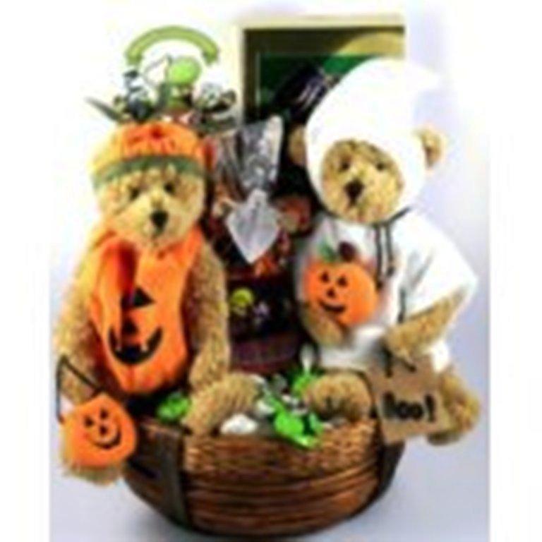 Make Halloween Gift Baskets