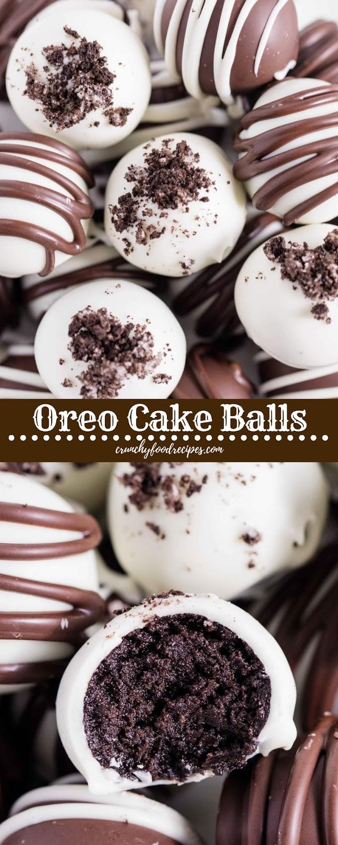 Oreo Cake Balls #christmas #cookies