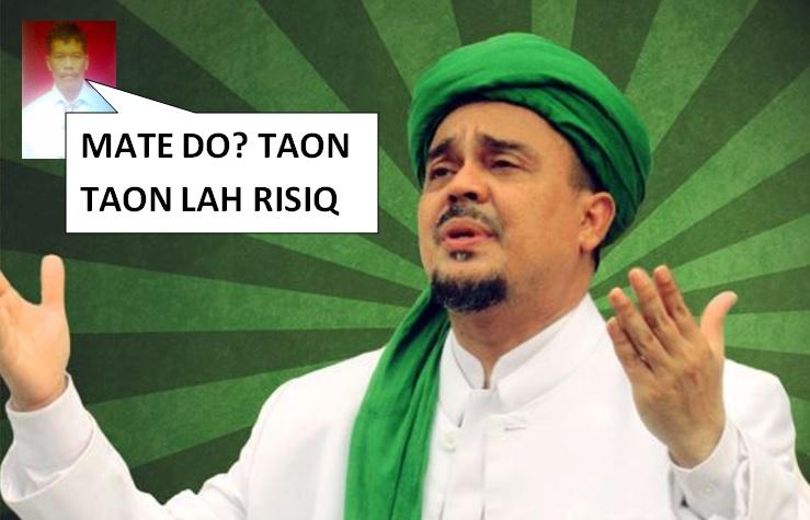 Sumpahi Habib Rizieq Meninggal, Ahoker Ini Mati Duluan