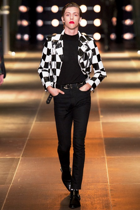 Fletcher Shears - The Garden - Saint Laurent Spring/Summer 2014 fashion show