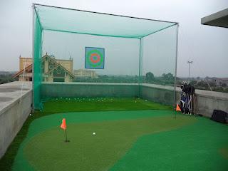 bộ tập golf mini trong nhà, khung tập golf swing