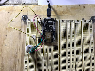 ESP8622 and DHT22 working together