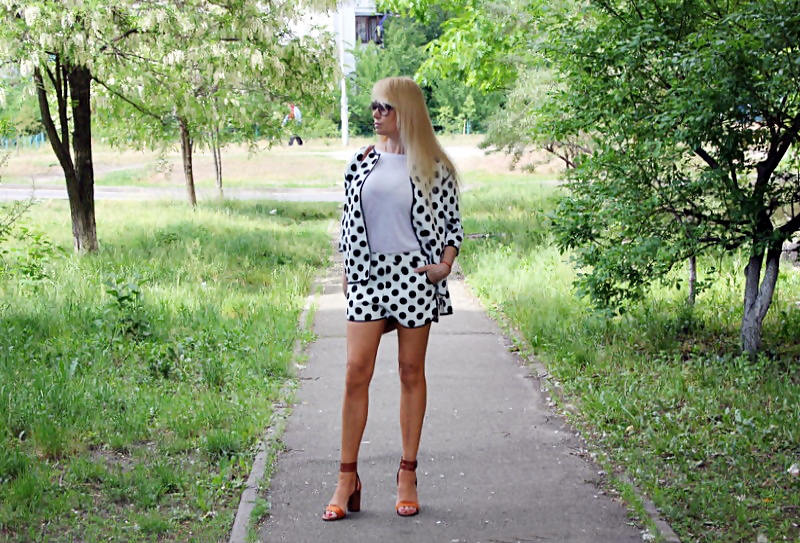 "Shopping on ROSEWHOLESALE and ZAFUL: Polka Dot Twinset / Модный принт ""горошек"""