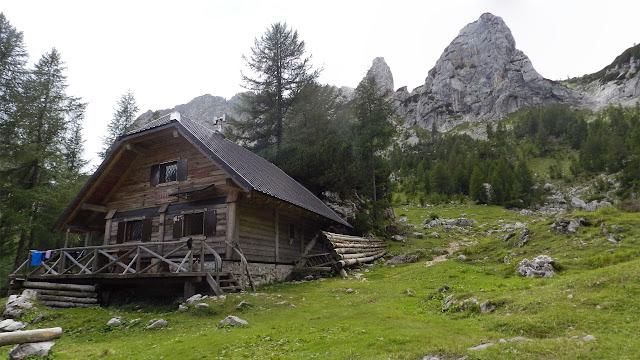 Rifugio Prgarca in alta valle Krma