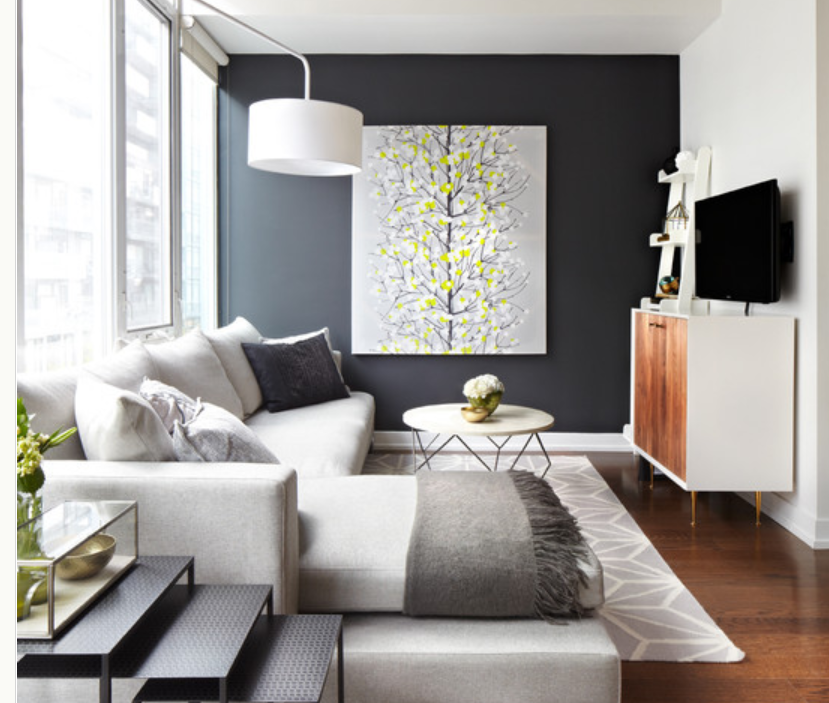 Accent Wall Ideas | Modern Diy Art Designs
