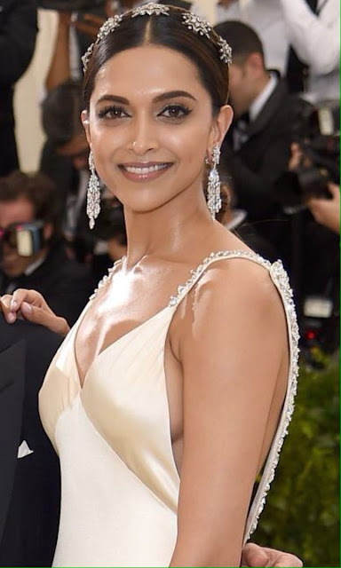 The beautifuldeepika padukone at the MET Gala 2