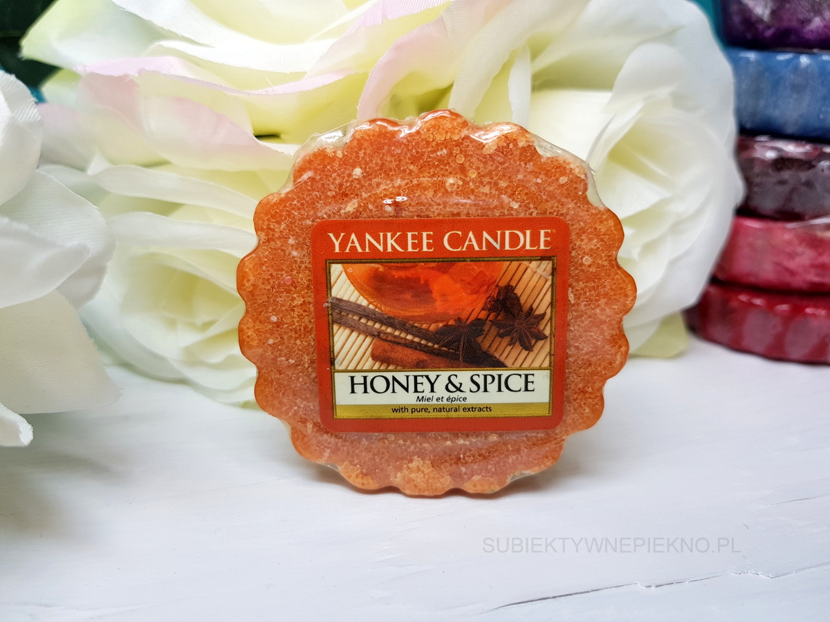 HONEY & SPICE YANKEE CANDLE