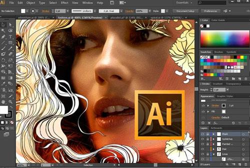 تحميل برنامج Adobe Illustrator Portable نسخة محمولة