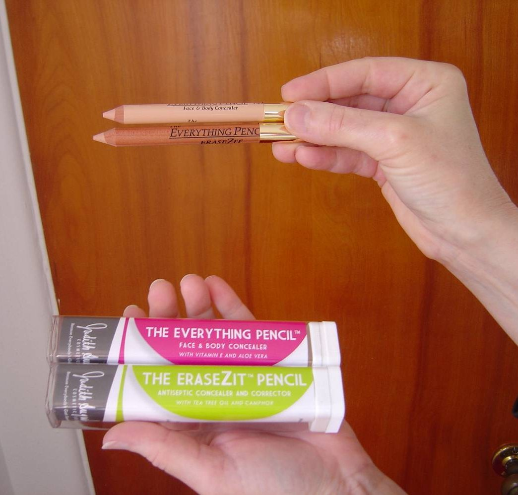 Judith August Cosmetics The Everything and EraseZit Concealer Pencils.jpeg