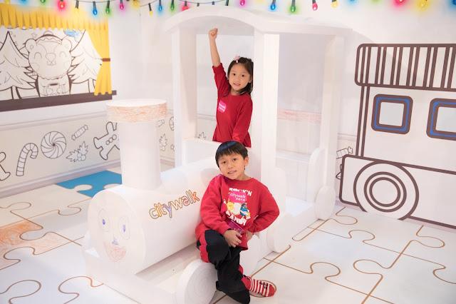【聖誕親子好去處】荃新天地 x Crayola 聖誕童「畫」