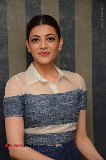 Actress Kajal Agarwal Latest Stills at Khaidi No 150 Movie Interview  0046.JPG