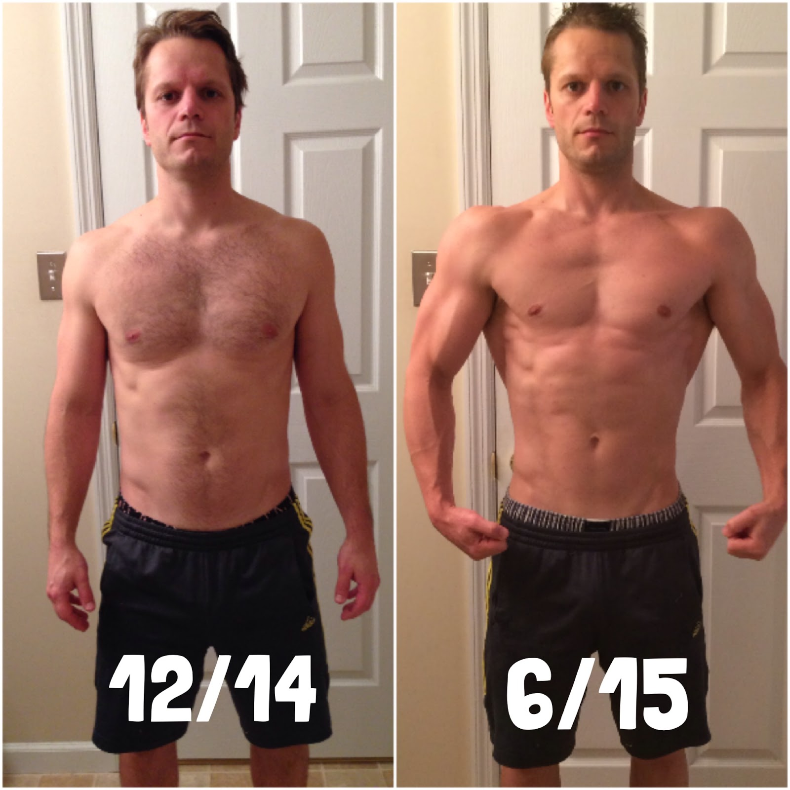 Luke And Ashley S Body Beast Results