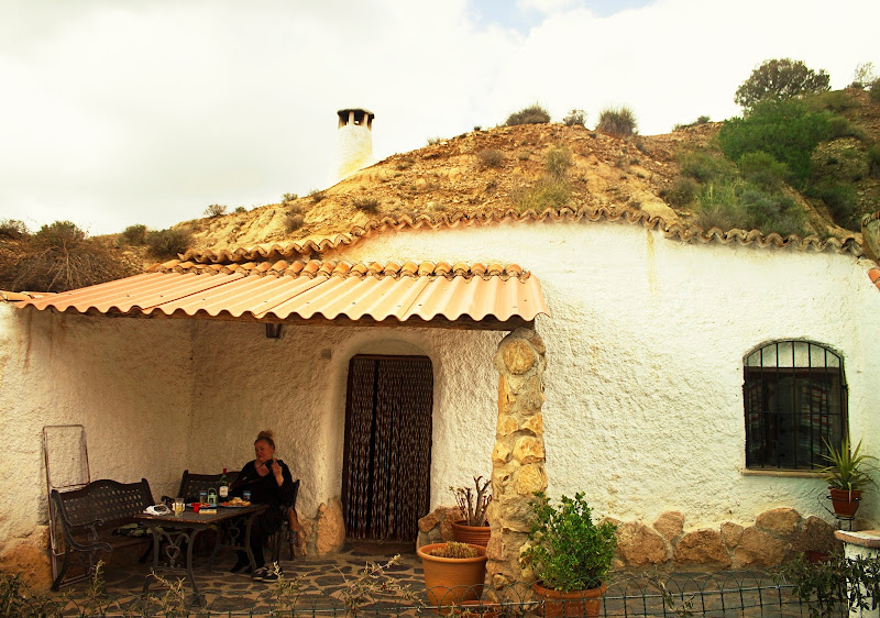 Staying in a Cueva in Guadix