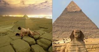 Τουρίστες σκαρφάλωσαν στην Πυραμίδα του Χέοπα για να... το κάνουν στην κορυφή της