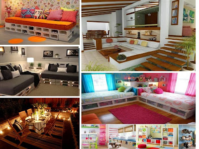 Renew your house using wood pallet
