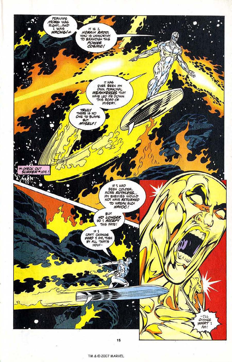 Silver Surfer (1987) Issue #104 #112 - English 17