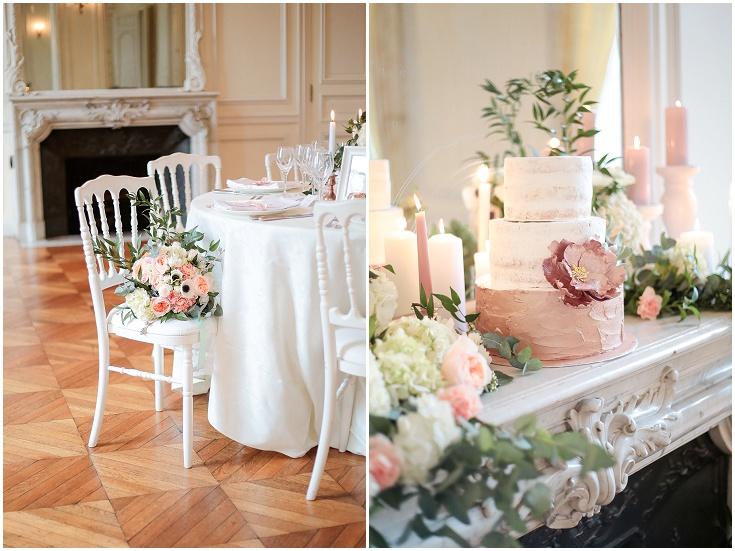 chateau santeny décoration table