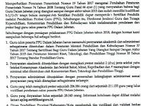 Informasi PPGJ Tahun 2018