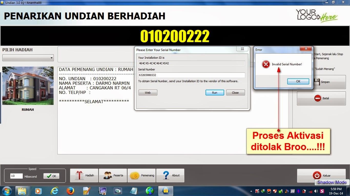 Program undian arisan 2