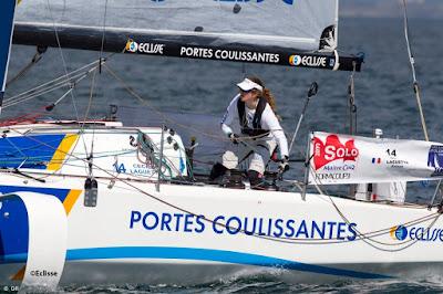 Cecile Laguette, en confinement, poursuit sa préparation Figaro