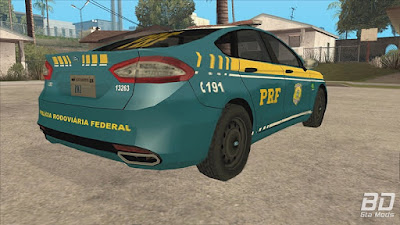 Download mod carro , viatura Ford Fusion PRF Lowpoly para GTA San Andreas.