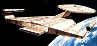 Il concept (fin'ora inutilizzato) per l'Enterprise della serie Star Trek Phase II - TG TREK: Notizie, Novità, News da Star Trek