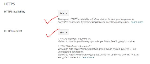 How To Shift HTTP To HTTPS On Your Blogger Blog With Custom Domain By Saransh Sagar ??