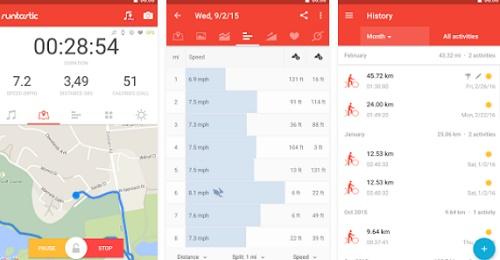 Aplikasi android untuk gowes