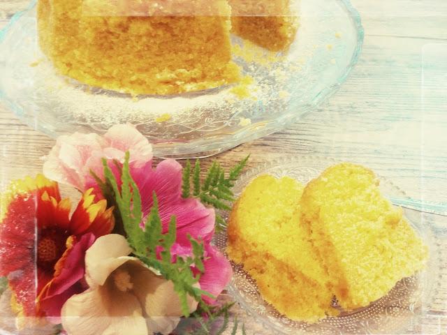 babka gotowana cytrynowa cukier puder