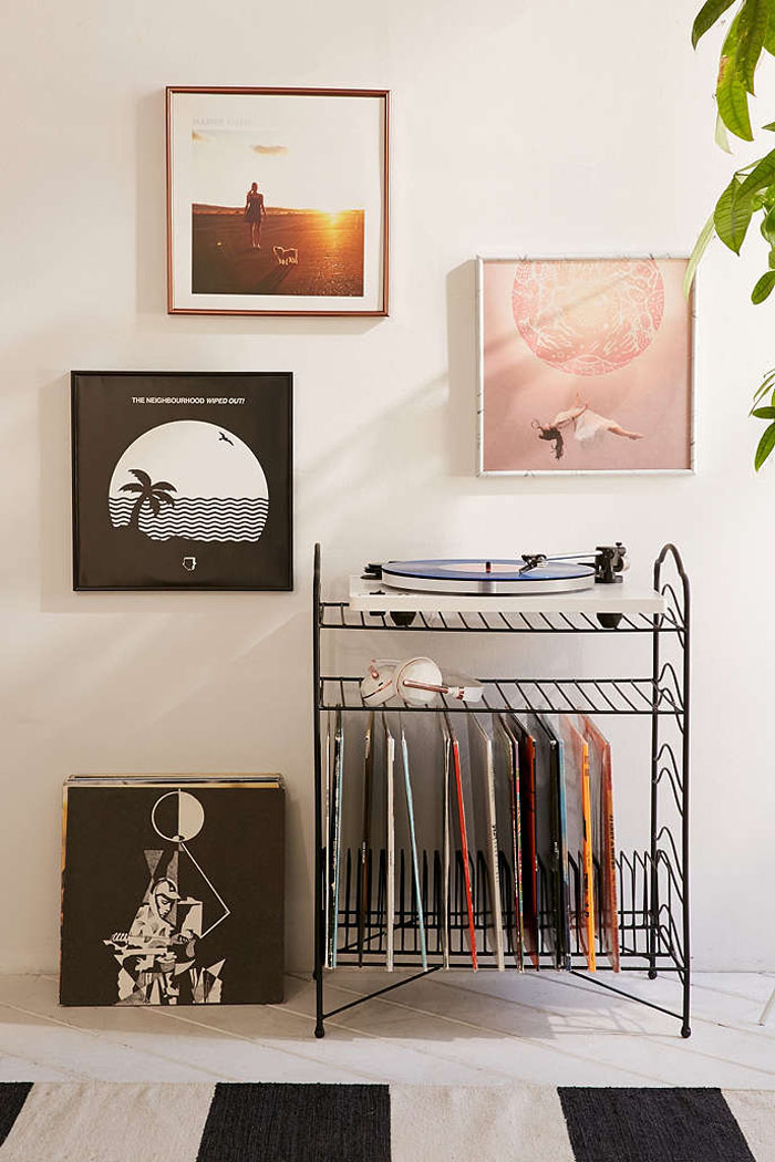 9 Rad Vinyl Record Storage Solutions | Poppytalk