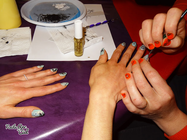 Nail Art Party entre filles par Nails Arc en Ciel