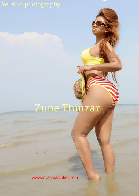 Zune Thinzar Took A Shortcut Into The Entertainment Acting Industry