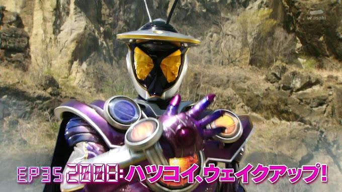 Spoiler Kamen Rider Zi-O Episode 35, Kemunculan Kamen Rider Ginga