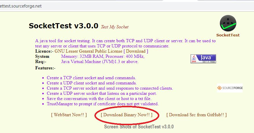 阿良的嵌入式系統技術學習區: 方便好用的TCP/UDP傳輸測試軟體: SocketTest