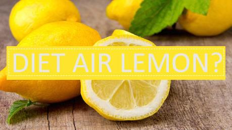 cara menurunkan berat badan dengan air lemon