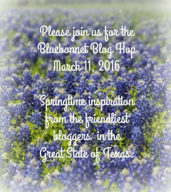 Bluebonnet Blog Hop at Miz Helen's Country Cottage
