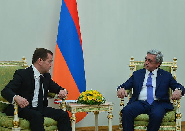 Sargsyan: lo que quiere Baku es un Karabaj sin armenios