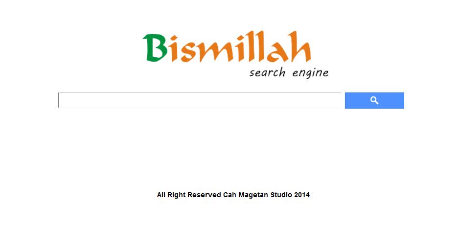 bismillah search engine dari indonesia