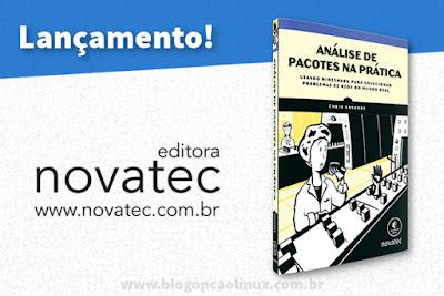 """Novatec Editora lança o Livro """"Análise de pacotes na prática"""""""