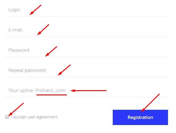 Регистрация в Autobit 2